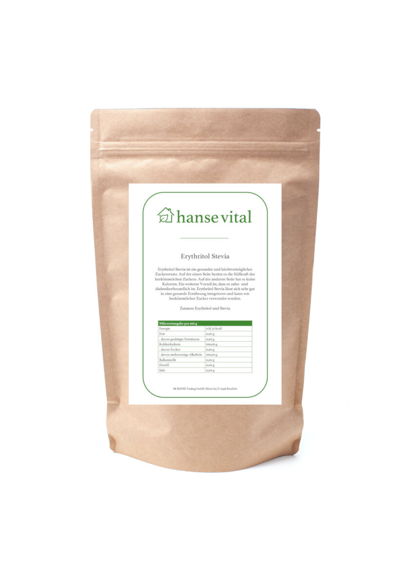 erythritol stevia online bestellen bei hanse vital